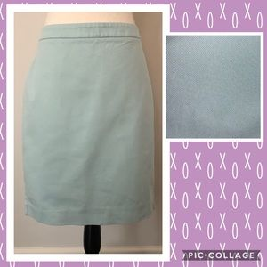 CAbi Mint Green Pencil Skirt